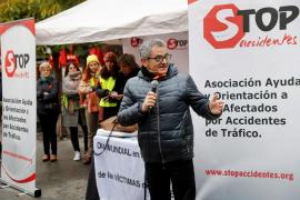 Las familias de víctimas de 'violencia vial' se concentran en Madrid para exigir justicia