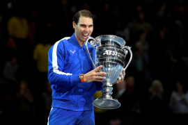 Nadal, Djokovic y Federer, podio del tenis mundial en 2019