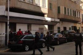 Desalojada una veintena de personas de dos fincas de Palma por riesgo de derrumbe