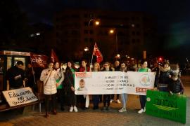 Trabajadoras de 'escoletes' protestan para pedir «condiciones laborales dignas»