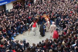 Manacor abre la puerta a que las mujeres puedan bailar de Dimonis por Sant Antoni