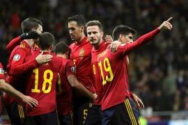 España golea y será cabeza de serie en el sorteo a la Eurocopa