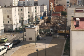El Bloque VIII de Corea, reducido a escombros