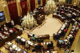 El Parlament rechaza las enmiendas a la totalidad de los Presupuestos