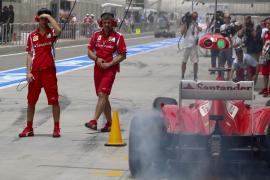 Alonso: «Va a ser una carrera  muy dura en cuanto a la degradación de neumáticos»