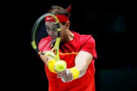 Nadal vence a Kachanov y fuerza el doble ante Rusia en la Copa Davis