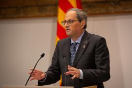 El Superior de Cataluña insta a investigar de nuevo a Torra por no retirar el lazo del Palau