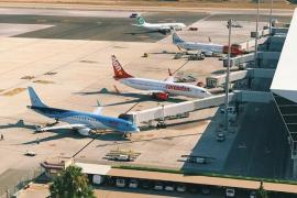 El tráfico de pasajeros internacionales cae en octubre un 2 % en Baleares