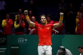 Nadal vence y España, a cuartos a costa de la defensora Croacia