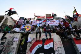 Cuatro muertos y 50 heridos en un intento de dispersar manifestantes en Bagdad