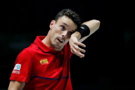 Bautista deja el equipo español de Copa Davis «por un problema familiar»