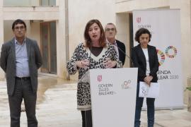 Armengol afirma que los límites al diésel en Baleares siguen vigentes