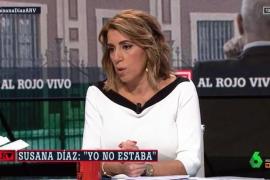 Susana Díaz pide perdón a los andaluces por el «bochornoso» caso ERE