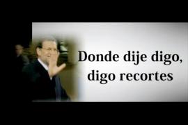 El PSOE denuncia en un vídeo las «mentiras» de Rajoy sobre educación y sanidad