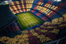 Tsunami Democràtic pide al Barça y al Real Madrid permitir en el 'Clásico' el lema 'Spain, sit and talk'