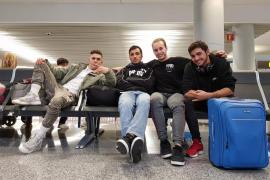 Cuatro mallorquines viajan a Holanda para participar en una competición de Freestyle Calistenia