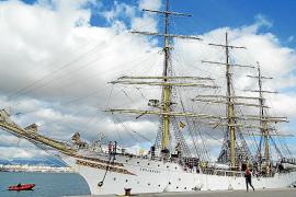 El buque escuela Sorlandet, en Palma