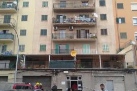 Desalojan un edificio en Palma por deficiencias estructurales en uno de sus pisos