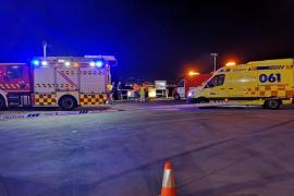 Muere un camionero en un accidente laboral en Pontevedra