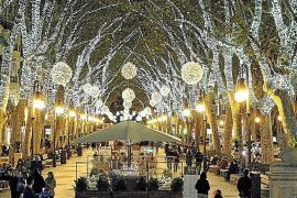 El encendido de luces de Navidad de Palma se podrá seguir desde tres puntos