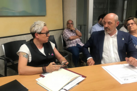 Agrio enfrentamiento en el Ayuntamiento de Palma: Sonia Vivas llama a Vox «anomalía del sistema»