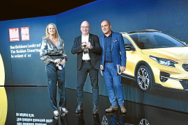 El Kia XCeed, galardonado con el prestigioso 'Volante de Oro'