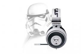 Muestra tu lealtad al Imperio Galáctico con los auriculares Kraken Stormtrooper Edition