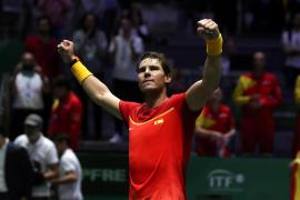 Rafael Nadal mete a España en semifinales de la Copa Davis