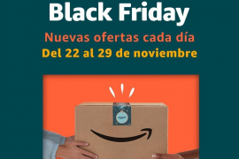 Amazon adelanta su Black Friday
