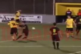 El Son Sardina expulsa de por vida al jugador que agredió gravemente a un rival