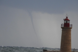 Alerta amarilla por vientos fuertes y mala mar en Baleares