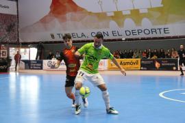 El Palma Futsal toma impulso en la pista del Aspil Jumpers