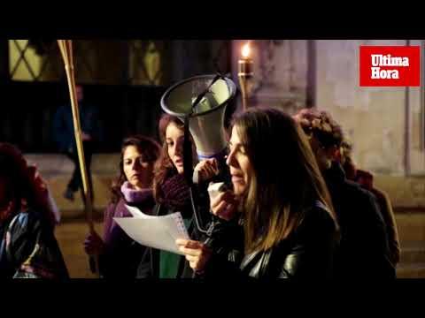 Marcha nocturna para que las mujeres puedan «salir libres a la calle sin ningún miedo»