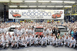 Fiat Chrysler Automobiles produce el coche 12 millones