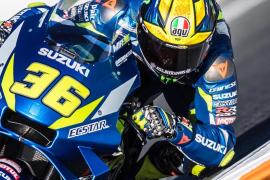Joan Mir, tercero en los tests de MotoGP en Jerez