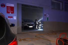 Incendio en un taller de Palma
