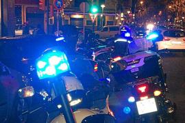 La policía detuvo al asaltante minutos después