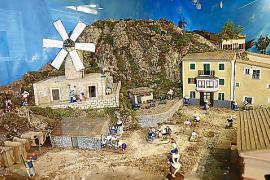 El belén del Mercat de Santa Catalina mira a la barriada