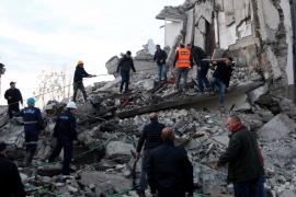 Grave terremoto en Albania