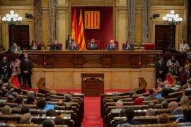 El Parlament catalán aprueba la resolución sobre autodeterminación suspendida parcialmente por el TC