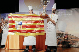 Los hermanos Carcas ganan en Palma el Nacional de Gastronomía