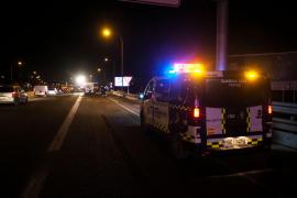 La colisión múltiple en Ibiza, en imágenes (Fotos: Marcelo Sastre).