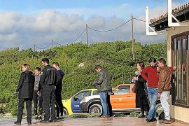 Es Trenc, plató de rodaje para la nueva serie de Antena 3 'Mentiras'