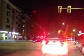 Un apagón afecta a la calle Aragón de Palma