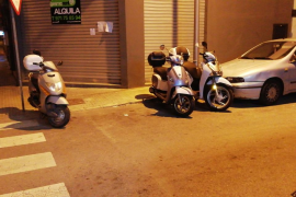 Conductores de motos irrespetuosos