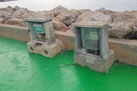 Puerto del Portitxol descuidado