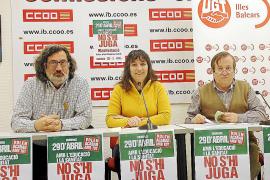 Los sindicatos salen a la calle contra los recortes de Rajoy