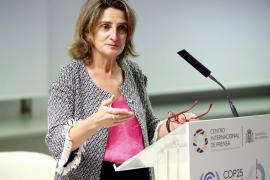 Teresa Ribera dice que la COP25 «será una pieza clave para un proceso largo y complejo»