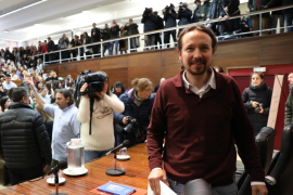 Iglesias es optimista con ERC y confía en tener gobierno en Nochebuena