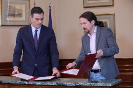 PSOE y Unidas Podemos detallan los últimos flecos del Gobierno